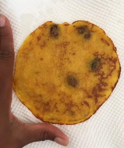 Pancake size 1